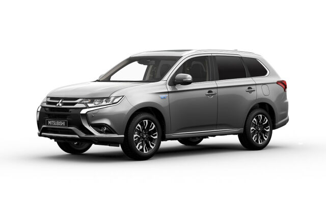 MITSUBISHI OUTLANDER PHEV Business Black 4WD 5P